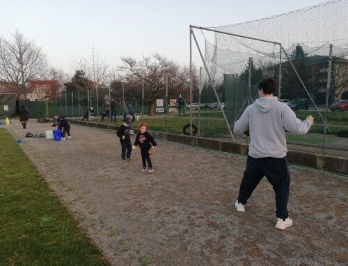 URRA' !! Finalmente il campo anche per i nostri piccoli atleti!